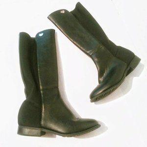 Stuart Weitzman Womens 5050 Black High Boots Sz 4